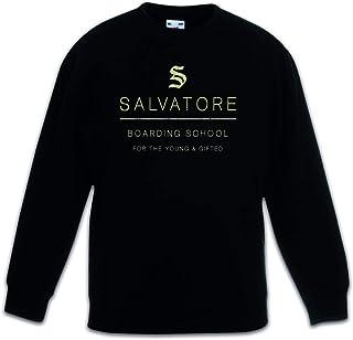 Urban Backwoods Salvatore Boarding School Sudadera Suéter para Niños Niñas Pullover Schwarz
