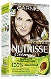 Garnier Nutrisse Creme Coloration Mocca Hellbraun 50 / Färbung für Haare für permanente Haarfarbe...
