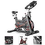 Speee Vélo d'appartement Vélo de vélo d'intérieur Fitness Stationnaire Tout-Inclus Vélo à Volant avec résistance pour Gym Home Cardio Workout Machine Training, Capacité de Charge maximale 330LBS