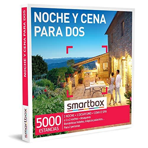 Smartbox - Caja Regalo Amor para Parejas - Noche y Cena para Dos - Ideas Regalos Originales - 1 Noche con Desayuno y Cena o SPA o 1 o 2 Noches con Desayuno para 2 Personas