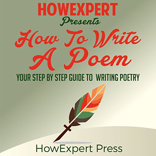 How to Write a Poem audiobook cover art
