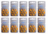 Power One P10 Hearing Aid Battery (Pack Of 10)(60 Cells)