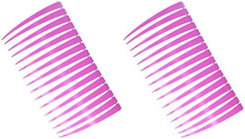 Pink eyelashes for car