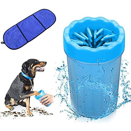Limpiador Patas Perro Mascota, Taza de Limpieza para Mascotas,Mascota portátil Limpiador, Limpia Patas Perro Portátil para Limpiar Pies Sucios de Mascota