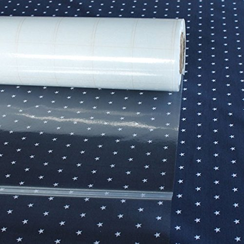 Stoff am Stück Meterware Kunststoff Klarsichtfolie Tischauflage Tischschoner 0,2 mm dick Folie Schutzfolie
