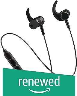 (Renewed) PTron BassFest in-Ear Wireless Headphones, High Bass Bluetooth Earphones, Bluetooth 5.0 Technology, 4 Hours Music Time, Earphones with Mic, Sports Bluetooth Headphones for All Smartphones (Black)