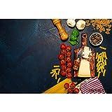 Fotófono para Alimentos, Pared de Cemento Oscuro, Verduras, Frutas, Cocina, fotografía, Fondos, Estudio fotográfico A20, 10x10ft / 3x3m