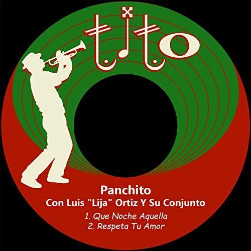"""Panchito Riset feat. Luis """"Lija"""" Ortiz Y Su Conjunto"""