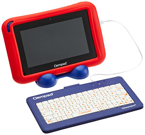 Clempad Tablet da 16 GB, Display HD da 7 Pollici + Tastiera per Bambini dai 6 Anni in su, 59057.5