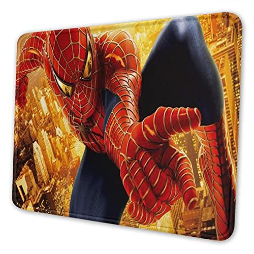 Tapis de souris confortable Spiderman pour table de jeu, tapis de souris de bureau, apprentissage de bureau, 17,8 x 21,6 cm