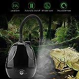 HEEPDD Humidificateur de Reptiles, Générateurs de Brouillard de Vaporisateur Pulvérisateur de nébuliseur équipé Le réservoir pour lézards caméléons Serpents de 22L pour Le Terrarium 220V d'amphibie