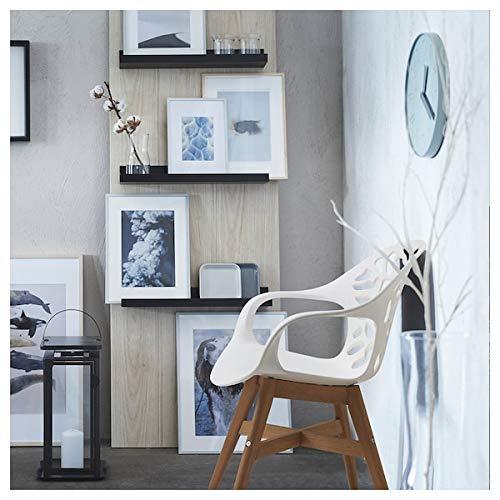DiscountSeller ANGRIM - Silla de comedor (63 x 60 x 82 cm), color blanco
