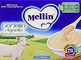 Mellin Liomellin Agnello Liofilizzato Confezione da 18 Vasetti, 18pz x 10 g...