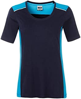 James and Nicholson Womens/Ladies Workwear 2 Level T-Shirt