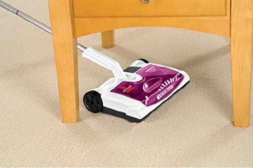 Bissell 41051 Supreme Sweep Turbo Kehrer, Akku-Besen für Hartböden und Teppiche, kabellos, aufladbar, 7.2 V - 6