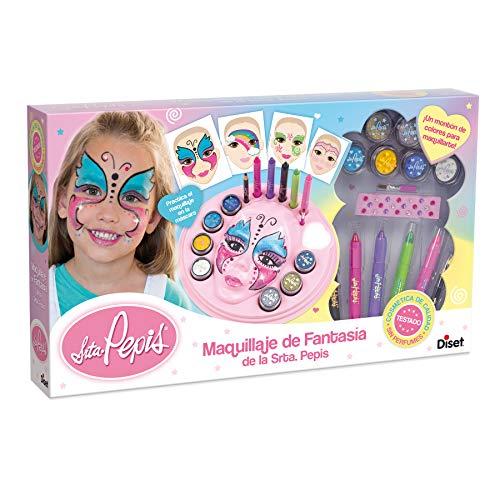 Diset - Maquillaje de fantasía de la Srta. Pepis - Set de pinturas para la cara a partir de 5 años