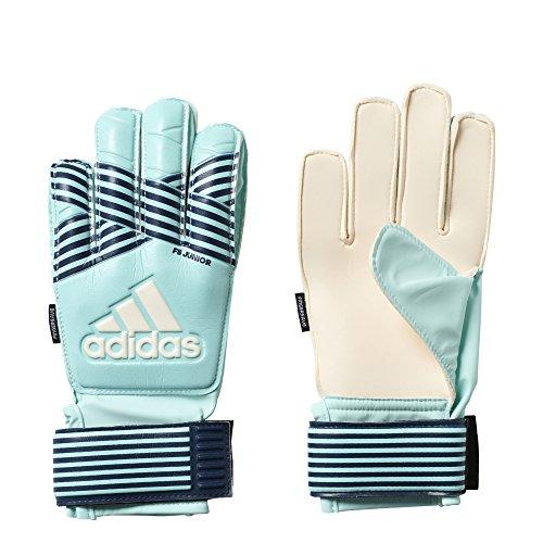 Adidas Ace FingerSave Guantes de portero para niños - CW5060, Energy Aqua/Energy Blue