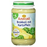 Alnatura Demeter Bio Brokkoli-Kartoffel, glutenfrei, 6er Pack (6 x 190 g) -