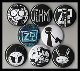 Johnny the Homicidal Maniac Set of 8 - 1 Inch Buttons