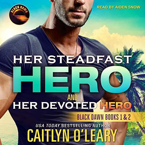 Her Steadfast Hero & Her Devoted Hero audiobook cover art