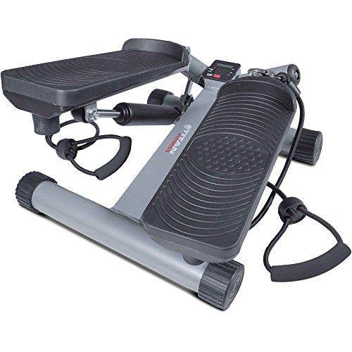 Titan Fitness Compact Step Machine With Resistance Bands Twister Stepper by Titan Fitness