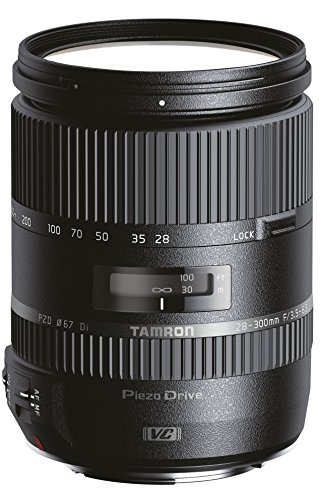 Tamron 28-300 mm F/3.5-6.3 Di VC PZD Objektiv für Canon Bajonettanschluss (A010E)