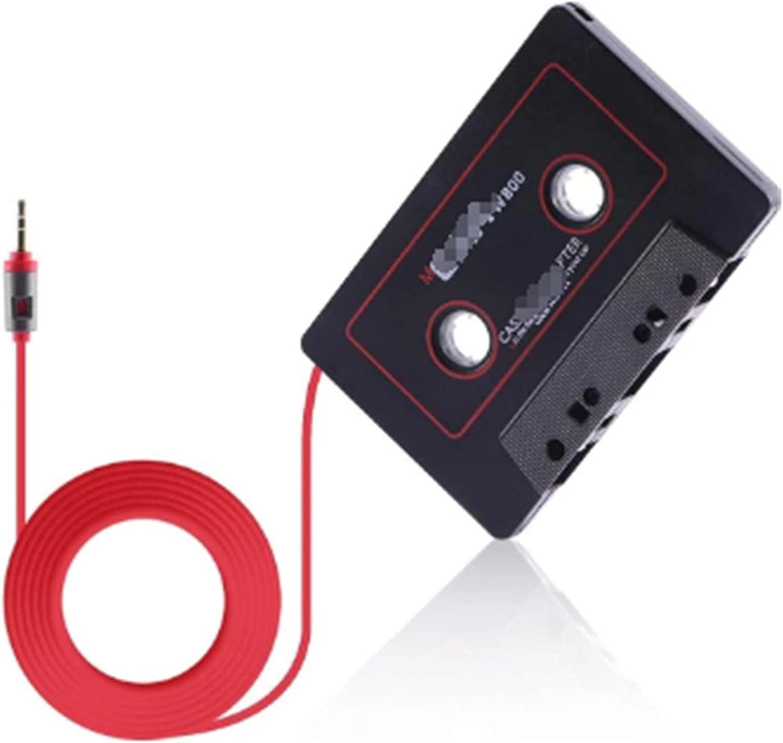 WANSHIDA QiQi Shop Adaptador de Cassette 30-20,000Hz Estéreo Bluetooth Cassette Adaptador Cinta Ajuste para iPhone MP3 / 4 Auxiliar B8T5 Cable CD Cassette Auxiliar de Coche magnético
