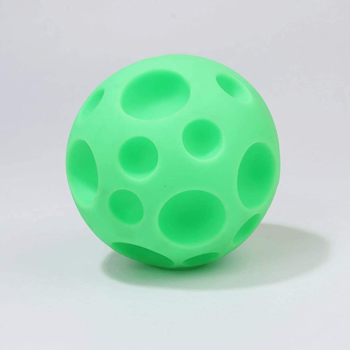 パッド二次束ペット用品ペットの犬のおもちゃハニカムのおもちゃバンプのおもちゃ犬のおもちゃかじる犬ボール犬臼歯のおもちゃ (Color : Green)