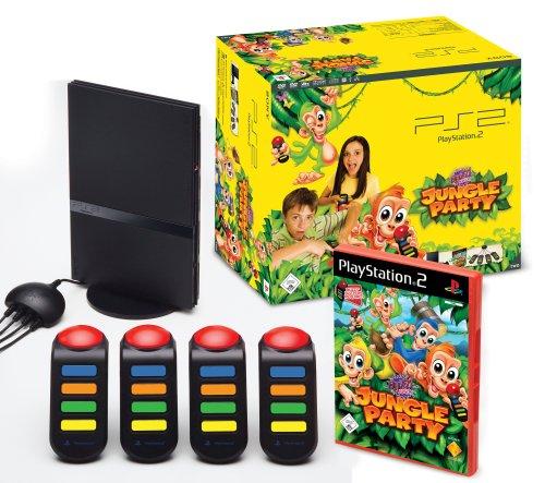 Playstation 2 - PS2 Konsole Slim inkl. BUZZ! Junior