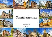 Sondershausen Impressionen (Wandkalender 2022 DIN A4 quer): Die Stadt Sondershausen, festgehalten auf zwoelf wunderschoenen Bildern (Monatskalender, 14 Seiten )