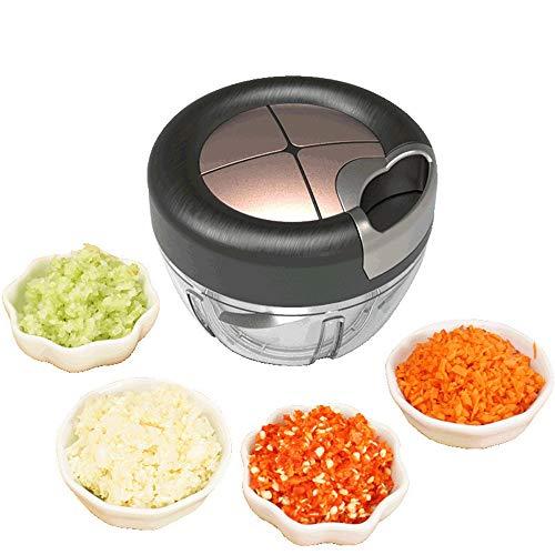 LMJ Outsider Mixer, hand 3 mes gesneden roer dumplings gevulde groenten gedraaid knoflook peper koken machine vleesmolen huis artefact