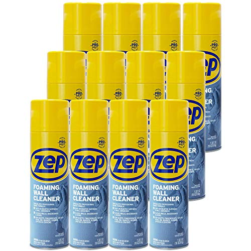 Zep Foaming Wall Cleaner 18 ounce ZUFWC18 (case of 12) Thick Professional Formula
