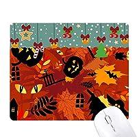 漫画の深い森のハロウィン ゲーム用スライドゴムのマウスパッドクリスマス