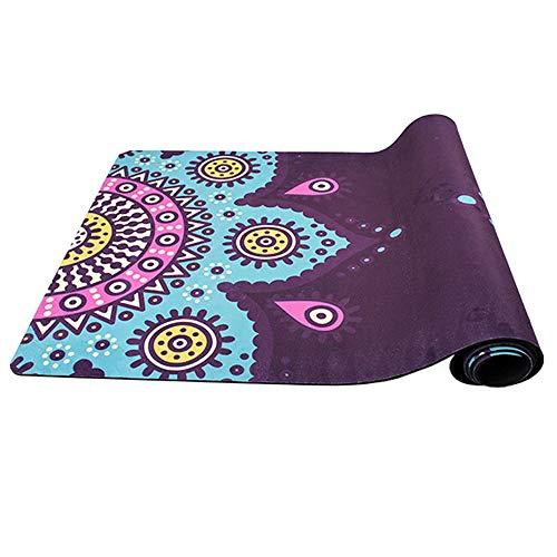 Yogamat Antislip Fitnessmat Ultra-dik Yoga mat Non-slip sport-yoga mat duurzame Lichtgewicht Yoga mat sportschool Oefening Gym Perfect voor Mannen en Vrouwen (Size : 183 * 68 * 0.4cm)