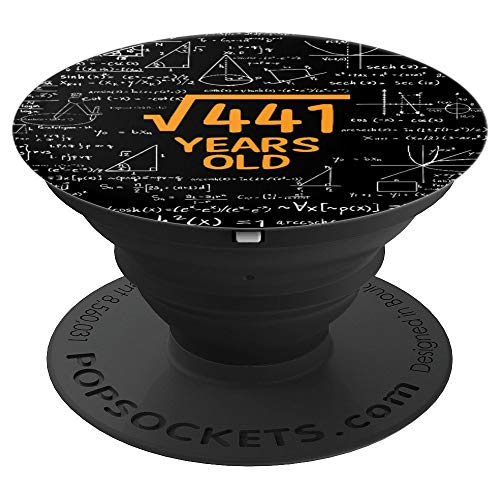 21st Birthday Gift For Men Women Math Lovers PopSockets Grip and Stand for Phones and Tablets