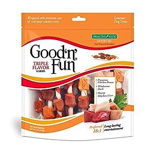 Good'n'Fun Triple Flavor Kabobs 4Pack (18 Count Each)