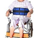 車椅子ベルト ガード ベルト 固定 姿勢保持 ずれ落ち防止、 ワンタッチ 簡単 装着 移動用 介護用 簡易タイプ 介助ベルト 介護用移乗ベルト 老人 高齢者 転倒防止