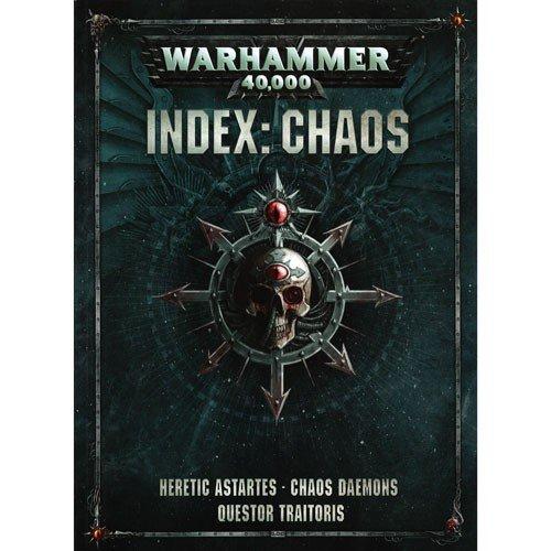 Games Workshop Warhammer 40,000 Chaos Index Book