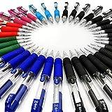 Z-Grip Mini-Kugelschreiber, einziehbar,36Stück, verschiedene Farben