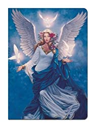 Tree-Free Greetings Journal 160 Ruled Pages Recycled 5 5 x 7 5 Inches Angel Flight Multi Color 72037