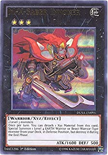YU-GI-OH CARD DUSA-EN095-1ST EDITION M-X-SABER INVOKER ULTRA RARE