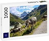 Lais Puzzle Las Vacas en el ALP 1000 Piezas
