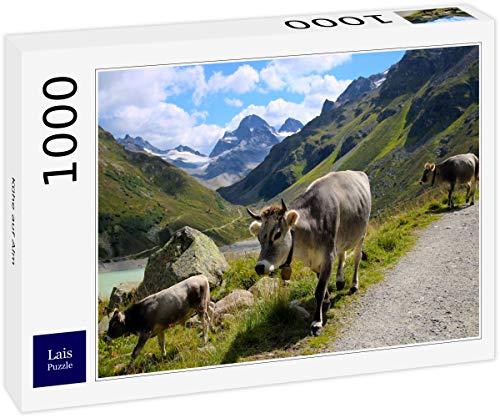 Lais Puzzle Mucche sull'alpe 1000 Pezzi