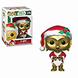 Funko 33888 POP Bobble: Star Wars: Holiday Santa C-3PO...