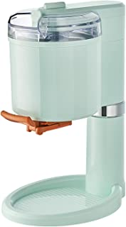 Ice Cream Maker Machine,Home Soft Gelato Maker,Homemade Pre-Freeze Glass,Maker Sorbet and Frozen Yogurt,1000 ml stor kapac...