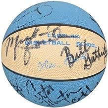 Michael Jordan 1983-1984 North Carolina Team Autographed Signed Basketball. PSA/DNA