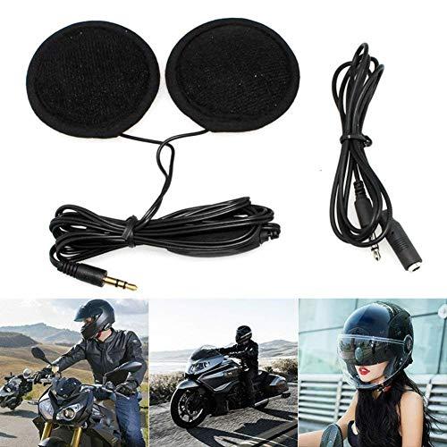 Casco de motocicleta, kit de sistemas de comunicación de intercomunicación para casco de motocicleta, con control de volumen para MP3 GPS excelente