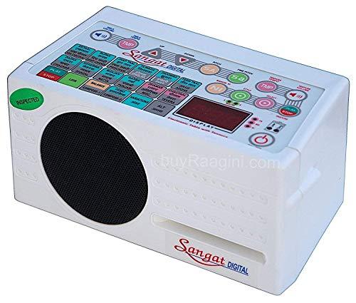 Beste Marke NASIR ALI Digital Electronic Tanpura mit Tabla, Dholak & Duff (5 in 1) Tasche, Tambura (PDI-DBF)