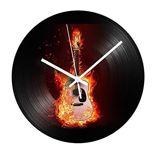 Instrumento musical reloj de pared mute quarwood mesa lámpara de mesa lámpara de mesa lámparas de mesa lámpara de mesa