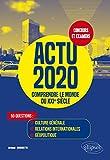 Actu 2020 - Culture générale, relations internationales, géopolitique